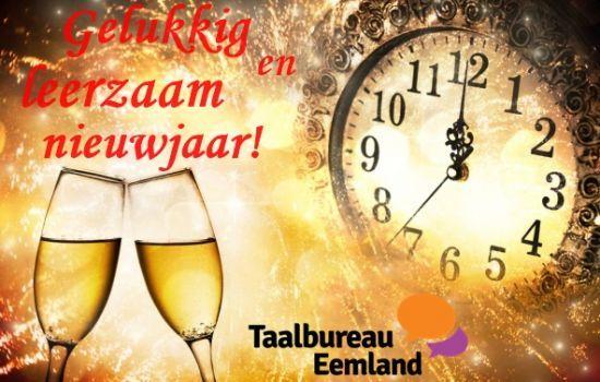 Gelukkig en leerzaam nieuwjaar!